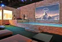 Dive-In Theaters & Spas / Above Ground Pools and Hot Tubs / by NativeNewYorker