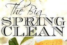 The big spring clean! / Spring cleaning hints, tips and ideas for your home