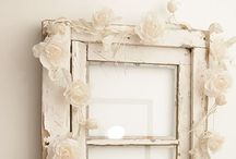 Upcycling old windows / Some fab ideas for upcycling old windows