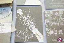 Wedding Invitations / Wedding invitations and save-the-date cards. www.WeddingandEventMagazine.com