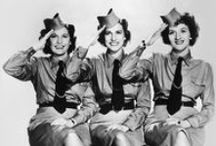 THE ANDREW SISTERS / by Joseph Montano