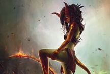 Daemon ● Tiefling ● Female