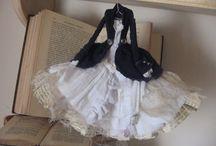 Бумажные куколки платья