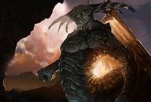 Illustrations / digital photoshop science fiction fantasy illustration