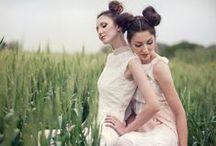 Bohemian Wedding Dress / Romantic wedding collection