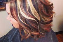 hiukset värjäys