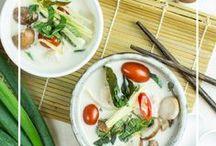 Asiatische Küche | Asian Food / Leckere Rezepte aus Asien: Thailand, Korea, Japan, China, Indien und vieles mehr