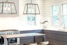 Køkkenet / Masser af skønne køkkenideer. Både mht. kombinationer, indretninger, farver og andet godt til husets vigtigste rum.