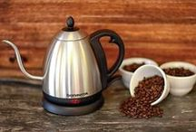 Brewing Equipment / Our favorite brewing equipment. Each piece gives you a different coffee experience!