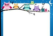 Page Borders and Border Clip Art / Page borders and clip art including animal borders, holiday borders, sports borders, and more.
