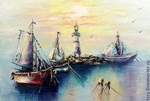 Art by Victoria Sokolova / Картины Виктории Соколовой / art, oil painting