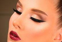 Maquiagem editorial e tutoriais
