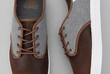 If The Shoe Fits... / Footwear for men, both casual and formal.