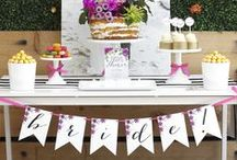DIY WEDDING / We are pinning ideas that we can create and print for your wedding