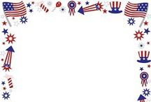 Patriotic Printables / All of our patriotic-themed printables including borders, coloring pages, and more in one location. These are great for the 4th of July, Flag Day, and more.
