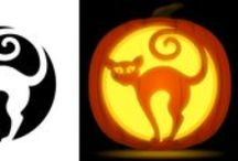 Pumpkin Carving Stencils / Pumpkin carving stencils for Halloween from PumpkinStencils.org. Download free patterns of animals, monsters, and more.