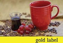 Gold Label Coffee / Limited Stock and/or Premium Direct Trade coffees. A little bit pricier, but worth every penny.