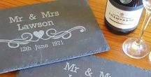 Wedding Day Gifts / Looking for a wedding day gift that is personalised especially for the couple? We have a range of products which are truly personal to the happy bride and groom...