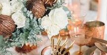 WINTER WEDDING INSPIRATION / Winter weddings can be all shades of warm and cozy if you follow some of these inspiring images.