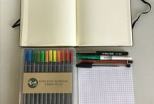 Bullet Journaling / All the pages in my bullet journal and tips and tricks!