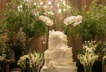 Decor Branco e Verde - Casamentos / Casamentos e Decorações Exclusivas