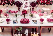 Decor Marsala para Casamento / Mini weddings, Casamentos e Decorações Exclusivas