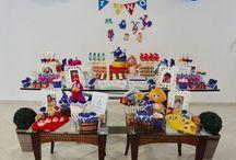Galinha Pintadinha - idéias para sua festa