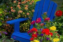 Trädgårdstäppor / Garden patches / Alla kan skapa sin egen lilla trädgårdstäppa! Var som helst och överallt!