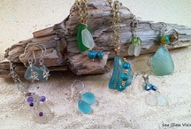 Sea Glass Visions Sea Glass Jewelry / I am a sea glass artist and sell my jewelry through Sea Glass Visions. http://www.etsy.com/shop/seaglassvisions ~ http://www.facebook.com/seaglassvisions