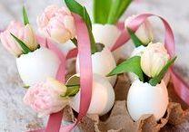 Forår / Stemning af forår, påske og pinse til ude og inde.