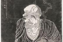 The Sixteen Arhats / Sixteen Arhats at Shengyin Temple via Harvard Fine Arts Library