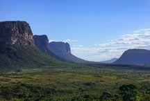 Chapada Diamantina  / Chapada Diamantina National Park is an ecological mosaic of biomes with a unique geomorphology and biological diversity.