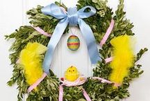 Glad Påsk / Happy Easter / Spring, flowers, eggs, candy, holiday, joy :-)