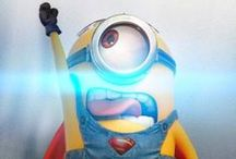 Minions / Os Minions fizeram tanto sucesso na franquia Meu Malvado Favorito que vão ganhar um filme inteiro só para eles. As animação chega aos cinemas em junho de 2015. Acredito que foram inspirados no PIU PIU lembram? Curtem minhas coleções de pura alegria, humor e felicidade.