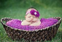 Newborns in Baskets, Bowls, Props, etc. / Newborn photos in various bowls and sorts