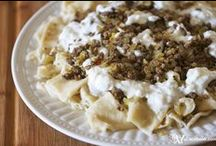 Pasta and Dumplings / Join this board to get tons of delicious recipes for pasta and dumplings of all kinds. / by Feride | AZ Cookbook