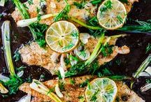 Fish and Seafood Recipes / Fish and seafood lovers, unite! Follow this board for some amazing recipes and photos.  / by Feride | AZ Cookbook