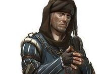 D&D - European / European-ish characters