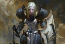 D&D - Fighters / Fighters, rogues, etc.