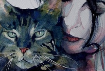 Cat Art / by noreen scully