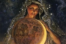 "The Goddess remembered / Before there was ""religion"" there were the Goddesses. For thousands of years actually. Hopefully ""religion"" won't last as long the Goddesses did! / by noreen scully"