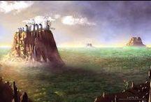 Paisajes | Landscapes / Una visión de otros mundos.