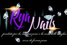 RyaNails / Vendita prodotti nail art decorazione ricostruzione unghie. RyaNails sarà presente ad Aestetica 2013.