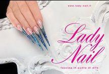 Lady Nail / Prodotti innovativi per la ricostruzione unghie. Fusco Fulvio & C. Presenti ad Aestetica 2013.