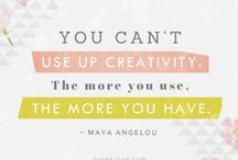 Inspiring Words For Creative Types
