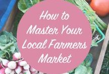 Market Tips / How to get the most out of your farmers' market experience.