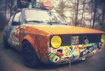 Autot / rumia autoja