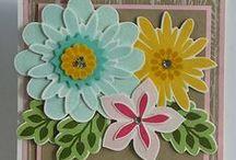 Flower Patch Bundle - Stampin' Up! / Inspiratie ideeën met de prachtige Flower Patch Bundle