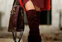 Mundo moda mujer invierno / Zapatos, bolsos, ropa, moda, fashion para el invierno
