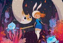 Adventure Time & Cartoons